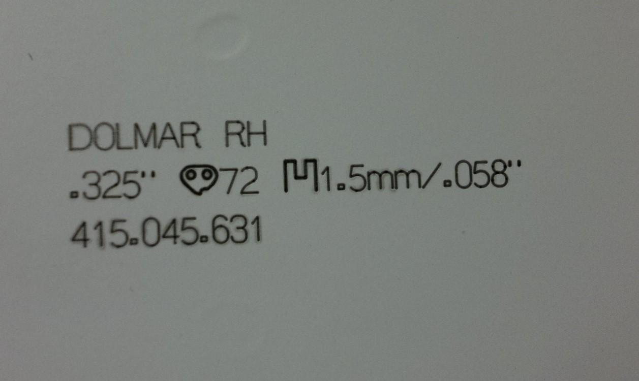 Ersatzschwert 45cm für PS-420 Dolmar Sternschiene