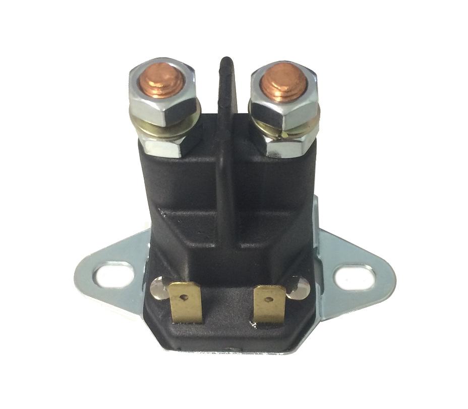 Magnetschalter Aufsitzmäher 12V 4 Anschlüsse Rasentraktor Rasenmäher