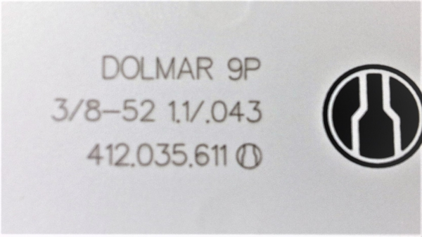 1+3 Schneidgarnitur 35 cm 3//8 1.3 Schiene Sägekette für DOLMAR Führungsschiene